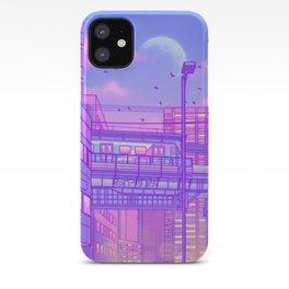 Cosmic City Train iPhone Case