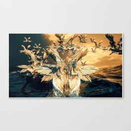 Sighting of Seraphims Canvas Print