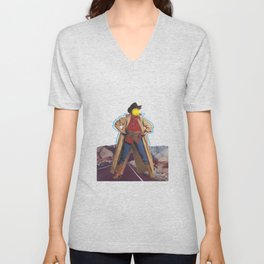 Space cowgirl Unisex V-Neck