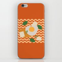 ramen iPhone & iPod Skins featuring Instant Ramen by Hesuh Park