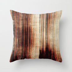 Faded paint Throw Pillow