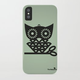 Green Hoot iPhone Case