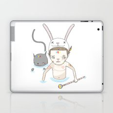 OVER THE BLACK POND Laptop & iPad Skin