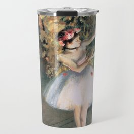 Two Dancers on a Stage by Edgar Degas Travel Mug