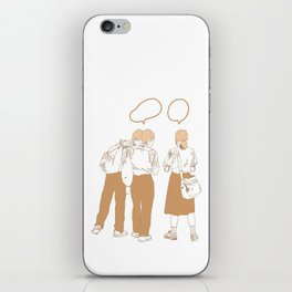School days iPhone Skin
