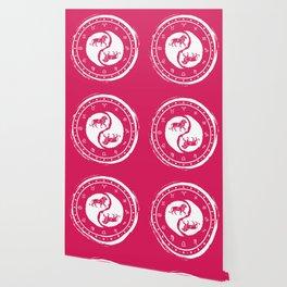 Leo Yin Yang Fifth Zodiac Sign Wallpaper