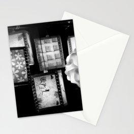 Grey Lanterns Stationery Cards