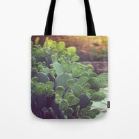 southwest Tote Bags featuring Southwest Sunset by The Dreamery