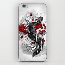 Black Koi iPhone Skin