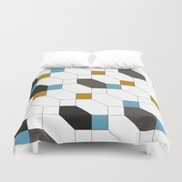 depeche mode Duvet Covers featuring Mode by blacknote