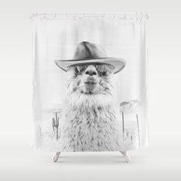 JOE BULLET Shower Curtain