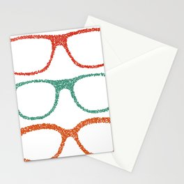 Dot glases Stationery Cards