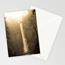Multnomah Falls - Upper Falls Stationery Cards