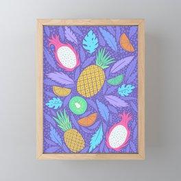 Summer Fruit Framed Mini Art Print