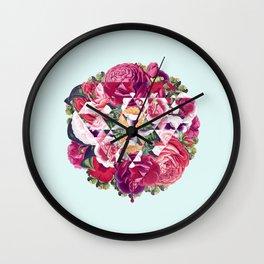 Flowers for Murders Wall Clock
