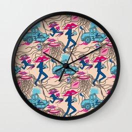 Galina Lipsy Abstract Wall Clock