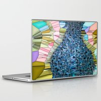coke Laptop & iPad Skins featuring Coke Bottle Figure by Tina Vaughn