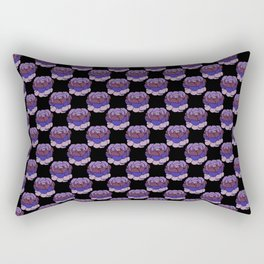 Trippy Cabbage Patch Rectangular Pillow
