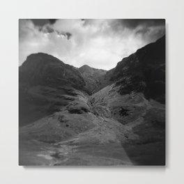 Scottish Highlands - Holga photograph Metal Print