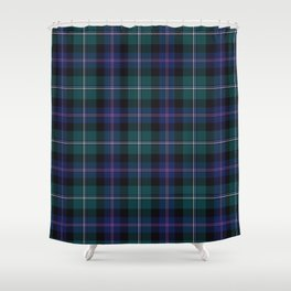Holiday Tartan Plaid Shower Curtain