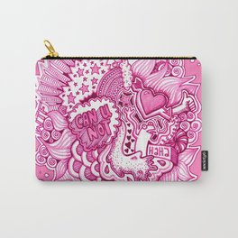 Pink Attitude Carry-All Pouch