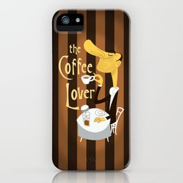 The Coffee Lover iPhone Case