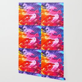 Colour bomb Wallpaper