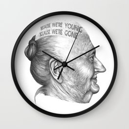 MI VIDA HA SIDO EXTRAORDINARIA SERIES 7# Wall Clock