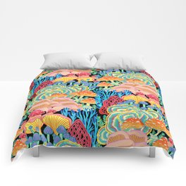 Fungi World (Mushroom world) - BKBG Comforters