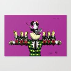chorus line Canvas Print