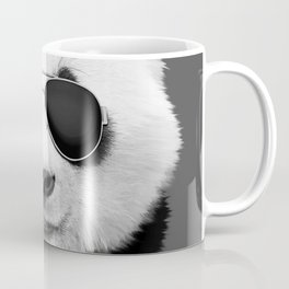 Panda in Black Coffee Mug