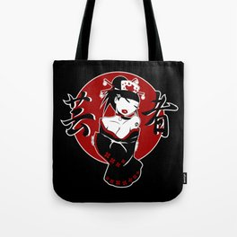 Geisha PinUp Jp1 Tote Bag