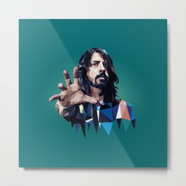 Learn to Fly - Dave Grohl print Metal Print