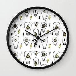 Bug Lights Wall Clock