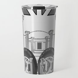 Necropolis Coins Palladium and Platinum 2 Travel Mug