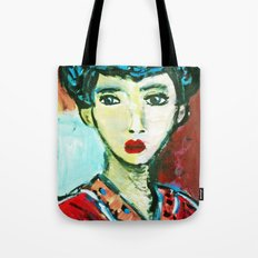 LADY MATISSE IN TEEN YEARS Tote Bag