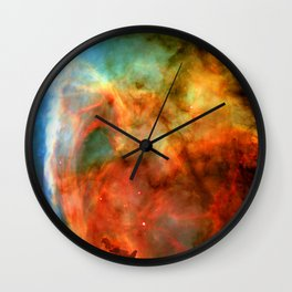 A Game of Shadow and Light Wall Clock