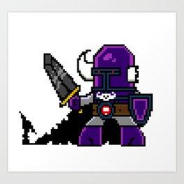 Dungeon Hordes Pixel Tiggz Art Print