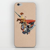 western iPhone & iPod Skins featuring Western by Lerson