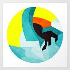 Sfinx Art Print