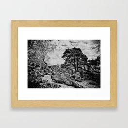 La hottée du diable Framed Art Print