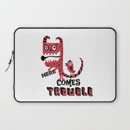 Here Comes Trouble - deux Laptop Sleeve