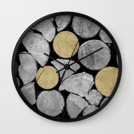 Storing (gold) Wall Clock