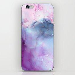 Dreamy storm clouds iPhone Skin