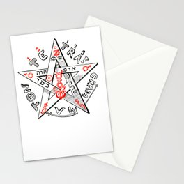 Tetragrammaton Stationery Cards
