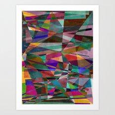 Geometric Madness 2 Art Print