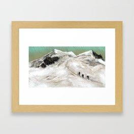 Mountaineering Framed Art Print