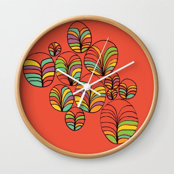 Garden Bay Wall Clock