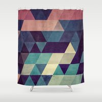 hug Shower Curtains featuring cryyp by Spires