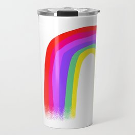 Regenbogen 001 / A Bright & Cheerful Rainbow Travel Mug